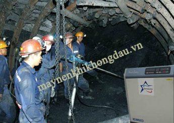 Máy nén khí được ứng dụng trong ngành khai khoáng