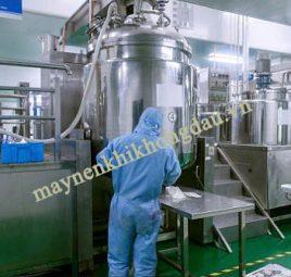 Máy nén khí trục vít được sử dụng trong ngành hóa chất