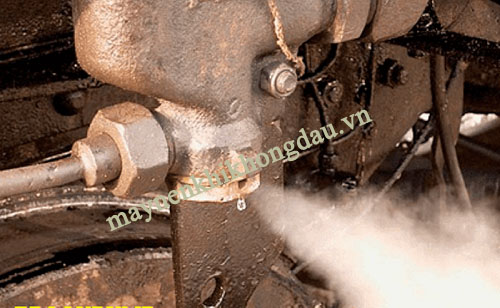 Rò rỉ khí nén gây ảnh hưởng tới công suất máy nén khí