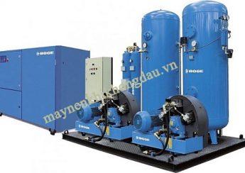 Đường ống dẫn khí nhỏ gây ra lỗi máy nén khí không đạt áp suất cài đặt
