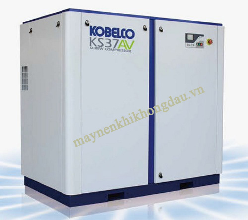 Máy nén khí Kobelco 37Kw đang được dùng phổ biến nhất ở nhiều nhà máy
