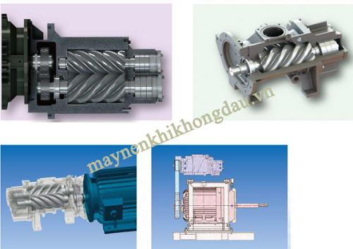 Máy nén khí trục vít Kobelco 37Kw tối ưu hơn trong cấu trúc và thiết kế
