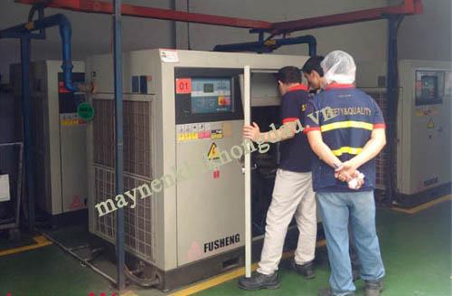 máy nén nén khí trục vít Fusheng được sử dụng rộng rãi trong công nghiệp