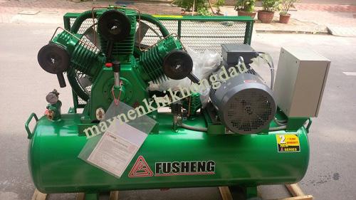 Máy nén khí piston Fusheng được đánh giá có chất lượng tốt, hiệu năng cao