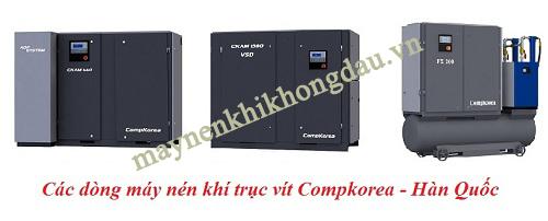 Máy nén khí trục vít Compkorea sở hữu nhiều ưu điểm vượt trội