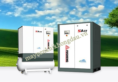 Các sản phẩm máy nén khí Fusheng luôn đảm bảo chất lượng tốt, tuổi thọ cao,
