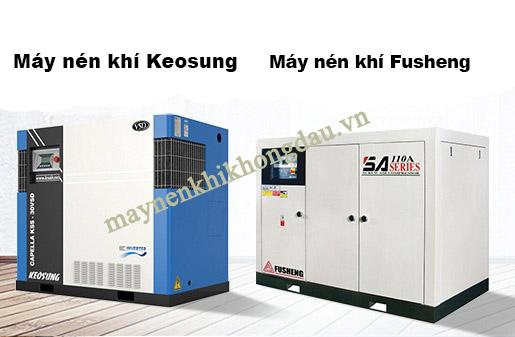 So sánh máy nén khí Fusheng và Keosung