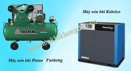 So sánh máy nén khí Fusheng và Kobelco