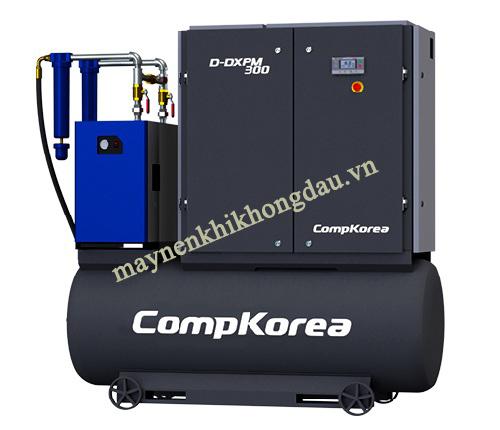 máy nén khí trục vít Compkorea được đánh giá cao hẳn so với máy nén khí piston Palada