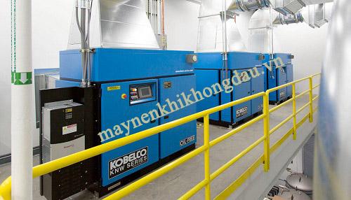 máy nén khí trục vít Kobelco đều được tích hợp những công nghệ hiện đại nhất