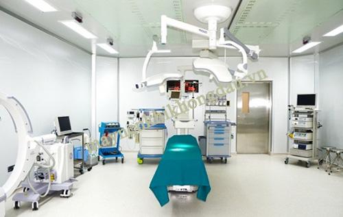 Hệ thống khí sạch giúp tăng khả năng thành công khi tiến hành phẫu thuật