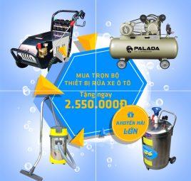Những thiết bị cần thiết cho tiệm rửa xe ô tô chuyên nghiệp