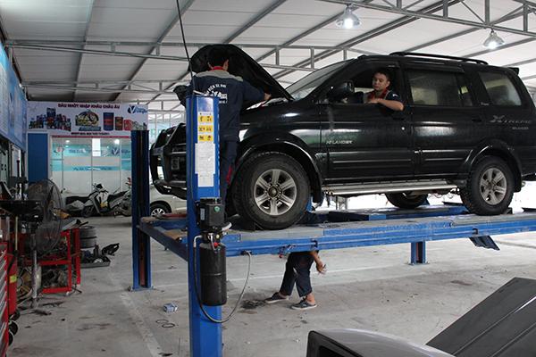 Ứng dụng của máy nén khí trong việc sửa chữa ô tô