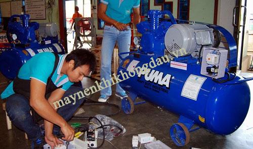 Kiểm tra bảo dưỡng máy nén khí thường xuyên