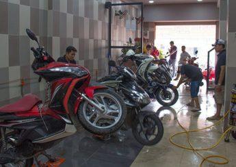 Mặt bằng là một yếu tố quan trọng khi thực hiện ý tưởng kinh doanh rửa xe máy