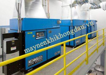 Máy nén khí trục vít Kobelco của Nhật Bản là dòng máy có giá thành cao nhất