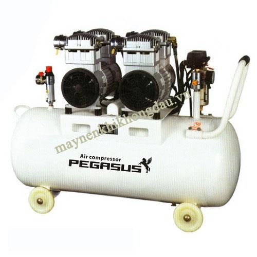 Máy nén khí không dầu giảm âm Pegasus TM-OF750-70L