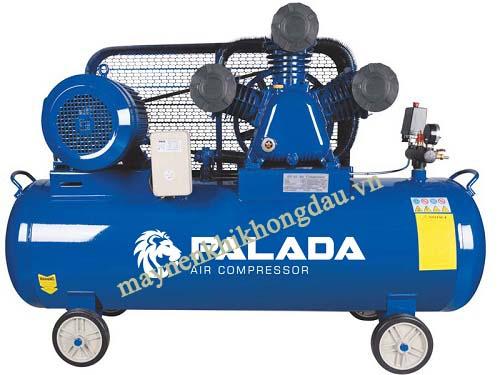 máy nén khí Palada cung cấp lưu lượng khí nén dồi dào, ít rung ồn khi vận hành