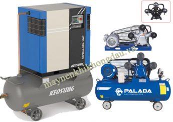 Máy nén khí Palada và Keosung có gì khác nhau?