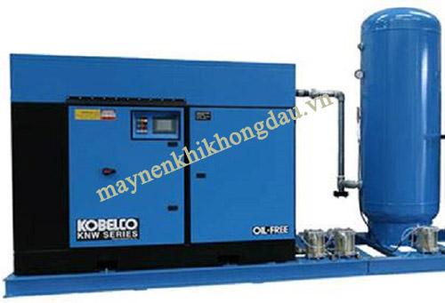 Máy nén khí Kobelco không dầu để xử lý nước thải tái sử dụng trong sinh hoạt