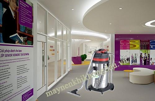 Máy hút bụi nước nhà xưởng có độ ồn thấp thích hợp sử dụng cho những không gian yêu cầu cao về sự yên tĩnh