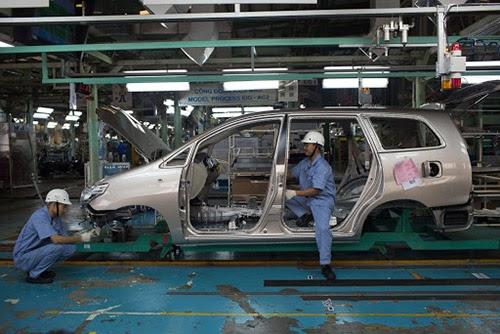 Ingersoll Rand MM75 được sử dụng nhiều trong các xưởng sản xuất lắp ráp ô tô